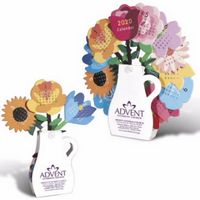 915919010-138 - Triumph® Flower Desk Calendar - thumbnail
