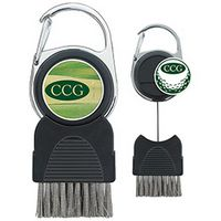 945472846-138 - Good Value® Golf Club Brush w/Ball Marker - thumbnail