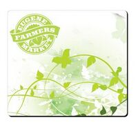 """962298347-138 - BIC® Fabric Surface Mouse Pad (7 1/2""""x8""""x1/16"""") - thumbnail"""