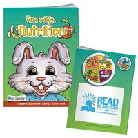 965471792-138 - BIC Graphic® Color Book w/Mask: Fun w/Nutrition - thumbnail