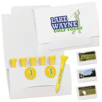 """995470415-138 - BIC Graphic® 6-2 Golf Tee Packet w/2 Ball Markers & 2 1/8"""" Tees - thumbnail"""