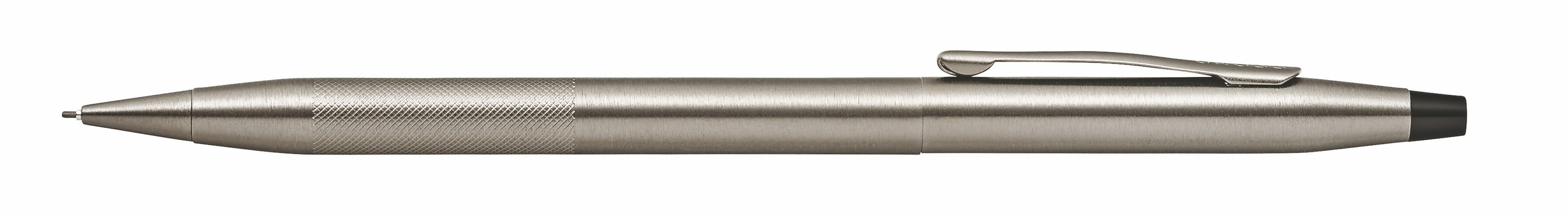 946442848-126 - Classic Century Titanium Gray PVD 0.7mm Pencil with Micro-knurl Detail - thumbnail