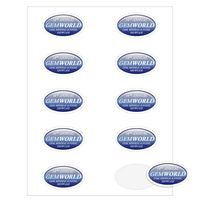 """112536381-183 - Oval Quick & Colorful Sheeted Label (1 1/2""""x2 1/2"""") - thumbnail"""