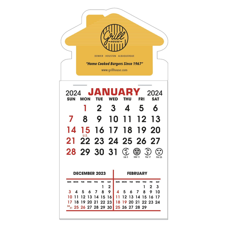 145719147-183 - Stick It Magnet 3 Month Calendar Pads - House - thumbnail