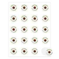 """152536361-183 - Round Quick & Colorful Sheeted Label (1 1/2"""" Diameter) - thumbnail"""