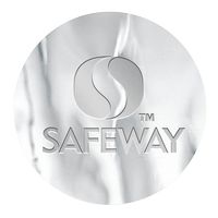 """175932600-183 - Round Smooth Edged Embossed Foil Roll Seal (1 1/2"""" Diameter) 1 Color - thumbnail"""