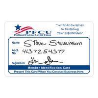 """34777439-183 - Vinyl Plastic Membership Card (0.020"""" Thick) - thumbnail"""