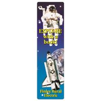 "562536134-183 - Full Color Rectangle Vinyl Plastic Bookmark w/out Slot (0.015"" Thick) - thumbnail"