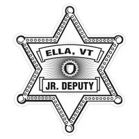 571578780-183 - Sheriff Star Paper Lapel Sticker On Roll - thumbnail