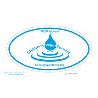 575446912-183 - Oval White Static Vinyl Post-Cals Decal Postcard - thumbnail
