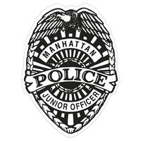 741578778-183 - Police Badge Paper Lapel Sticker On Roll - thumbnail