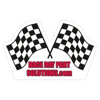 "922227775-183 - Racing Flags 0.02"" Thick Vinyl Die Cut Large Stock Magnet - thumbnail"