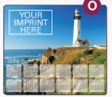 943729843-183 - Soft Surface Calendar Mouse Pads - Stock Art Background - Lighthouse - thumbnail