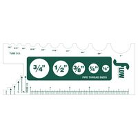 """985684088-183 - Custom 0.015"""" Thick Recycled Die Cut Plastic (29 to 41 Sq. Inch) - thumbnail"""