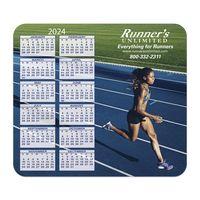 985932573-183 - Hard Surface Calendar Mouse Pads with Vertical Left Calendar - thumbnail