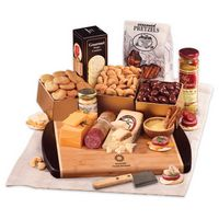 125703668-117 - Java Bamboo Board with Gourmet Selections - thumbnail