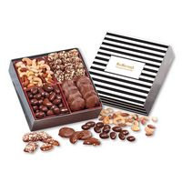 126335085-117 - Gourmet Holiday Gift Box with Stripes Sleeve - thumbnail