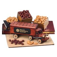 146066245-117 - 1940-Era Tractor-Trailer Truck with Chocolate Almonds & Extra Fancy Jumbo Cashews - thumbnail