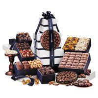 306312179-117 - Silver & Navy Executive Gourmet Tower - thumbnail