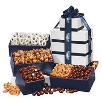 326062243-117 - Silver & Navy Tower of Treats - thumbnail