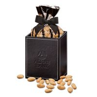 355703676-117 - Faux Leather Pen & Pencil Cup with Choice Virginia Peanuts - thumbnail