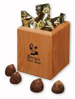 384154533-117 - Hardwood Pen & Pencil Cup with Cocoa Dusted Truffles - thumbnail