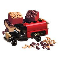 715448371-117 - 1920-Era Tank Truck with Chocolate Almonds & Extra Fancy Jumbo Cashews - thumbnail