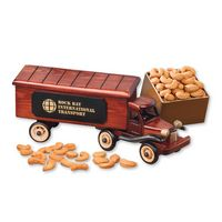 746066244-117 - 1940-Era Tractor-Trailer Truck with Extra Fancy Jumbo Cashews - thumbnail