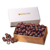 755801380-117 - Chocolate Covered Almonds in Pillow Top Gift Box - thumbnail