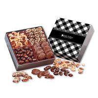 926335082-117 - Gourmet Holiday Gift Box with Black Plaid Sleeve - thumbnail