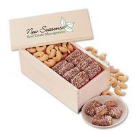 946312153-117 - English Butter Toffee & Extra Fancy Jumbo Cashews with Full Color Imprint - thumbnail