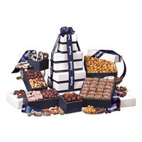 "975703818-117 - ""Park Avenue"" Tower of Chocolate in Navy - thumbnail"