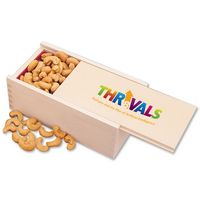 985163144-117 - Extra Fancy Jumbo Cashews in Wooden Collector's Box (4 Color Process) - thumbnail