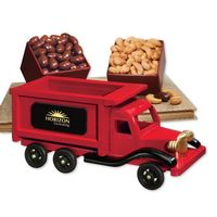 995258457-117 - 1950-Era Dump Truck with Chocolate Almonds & Extra Fancy Jumbo Cashews - thumbnail