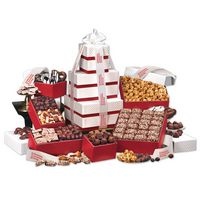 """995703858-117 - """"Park Avenue"""" Tower of Chocolate in Red - thumbnail"""