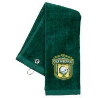 713463727-814 - Tri Fold Sport Towel w/ Center Grommet & Hook - thumbnail