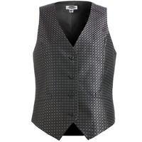194203406-822 - Edwards Ladies' Grid Brocade Vest - thumbnail