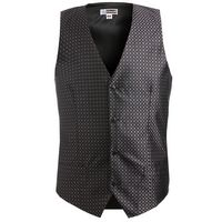 514203348 - Edwards Men's Grid Brocade Vest - thumbnail