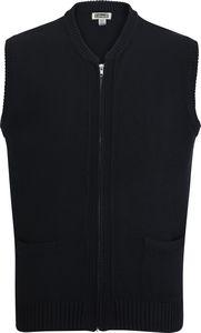 586499753-822 - Heavyweight Acrylic Full Zip Vest - thumbnail