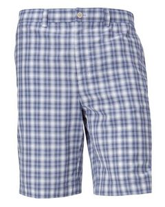 126131045-106 - Sherwood Plaid Flat Front Short - thumbnail
