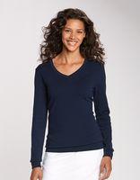 175260796-106 - Cutter & Buck Ladies Lakemont V-neck Sweater - thumbnail