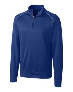 314493821-106 - Men's Cutter & Buck® WeatherTec™ Ridge Half-Zip Shirt (Big & Tall) - thumbnail