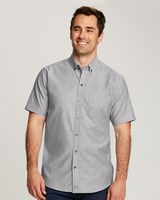 365705928-106 - Cutter & Buck Short Sleeve Stretch Oxford - thumbnail