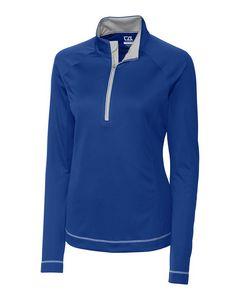374934783-106 - Ladies' Cutter & Buck® Evolve Half-Zip Shirt - thumbnail