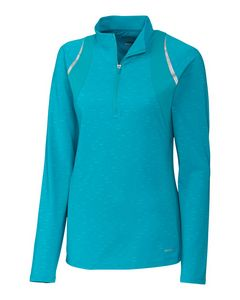 376049522-106 - L/S Elite Contour 1/2 Zip Mock - thumbnail