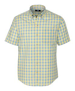 396457546-106 - S/S Wrinkle Free Luis Rey Check Big & Tall - thumbnail