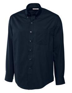 502704013-106 - Men's Cutter & Buck® Fine Twill Dress Shirt - thumbnail