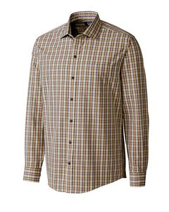 516457381-106 - L/S Wrinkle Free Cliff Check Big & Tall - thumbnail