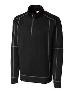 544497498-106 - Men's Clique® Helsa Half-Zip Shirt - thumbnail