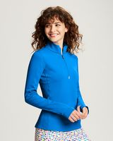 545705882-106 - Ladies' Cutter & Buck® Traverse 1/2-Zip Shirt - thumbnail
